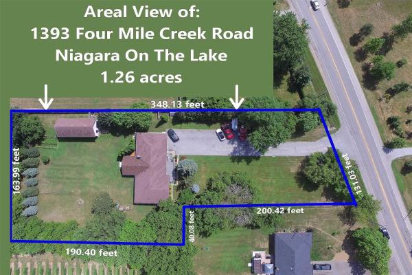 1393 Four Mile Creek Rd, Niagara-on-the-Lake