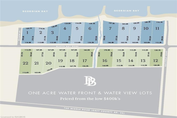 Lot #1 Plan 16M67, Georgian Bluffs