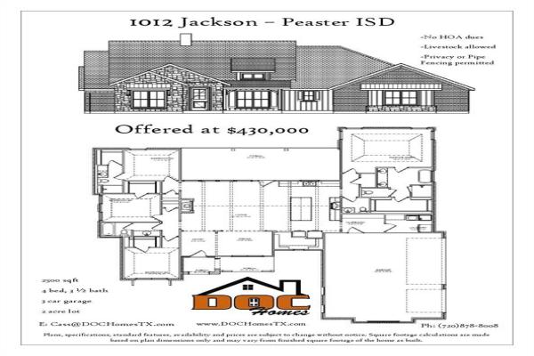 1012 Jackson, Peaster