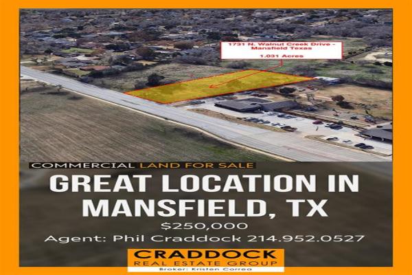 1731 Walnut Creek Drive, Mansfield