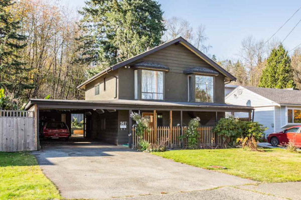 587 COLBY STREET, New Westminster