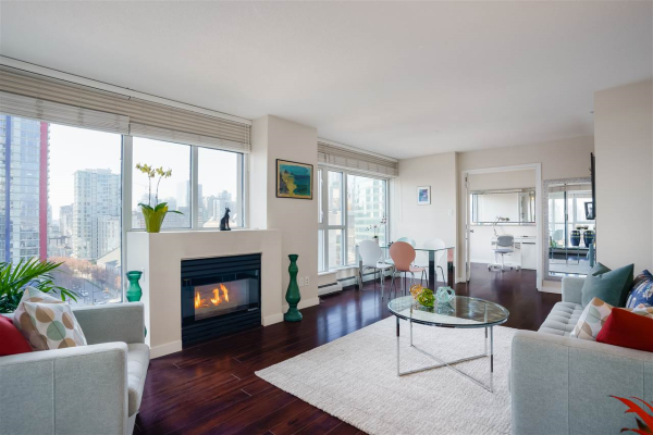 1404 183 KEEFER PLACE, Vancouver