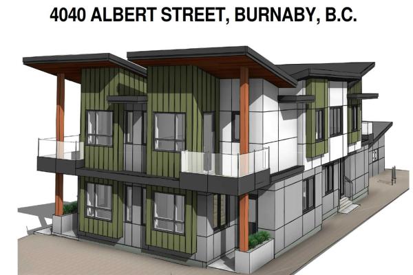 4040 ALBERT STREET, Burnaby