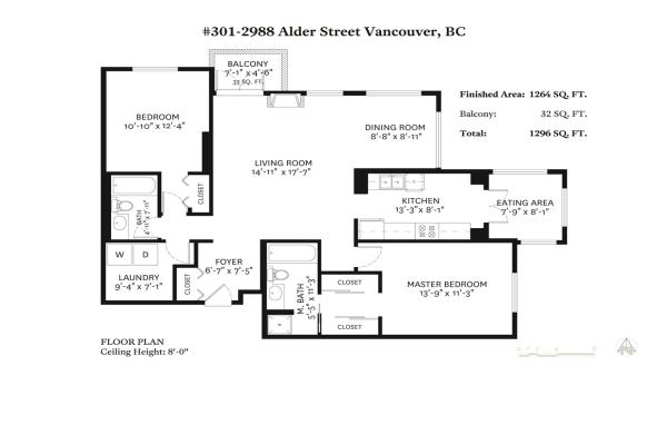 301 2988 ALDER STREET, Vancouver