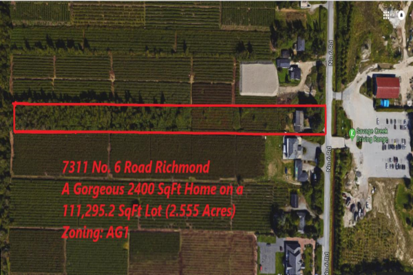 7311 NO. 6 ROAD, Richmond