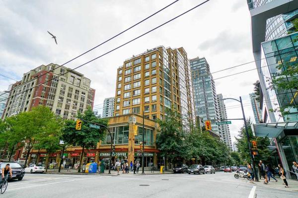 1307 822 HOMER STREET, Vancouver