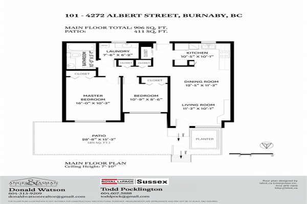 101 4272 ALBERT STREET, Burnaby