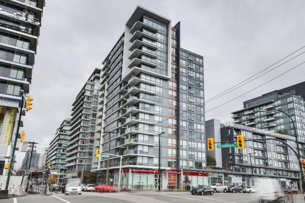 607 1788 COLUMBIA STREET, Vancouver