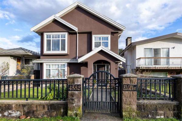 4552 ELGIN STREET, Vancouver