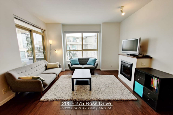 205 275 ROSS DRIVE, New Westminster