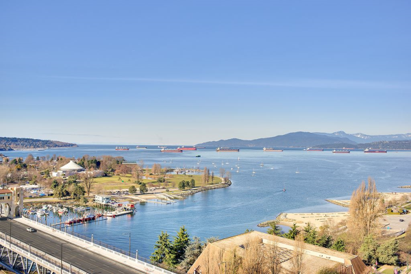 2203 907 BEACH AVENUE, Vancouver