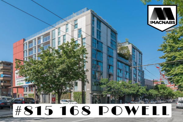 815 168 POWELL STREET, Vancouver